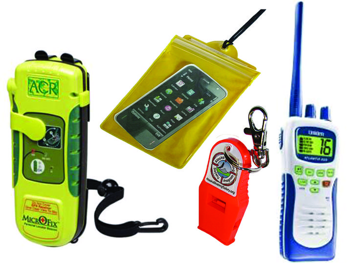 Carry communication and signaling devices on your person, when boating in Alaska. What is in your pocket?