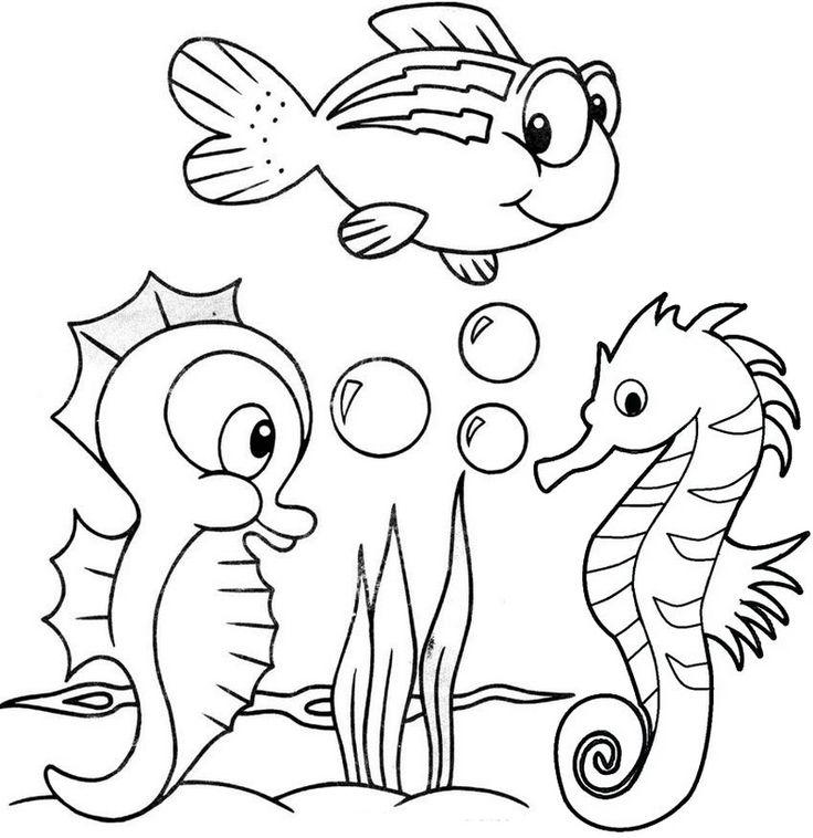 13 Fun Original and Cartoon Baby Seahorse Baby seahorse