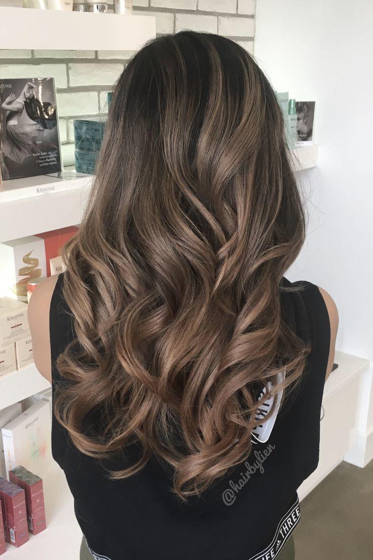 Trendy Hair Highlights : Asian balayage ombré. – …