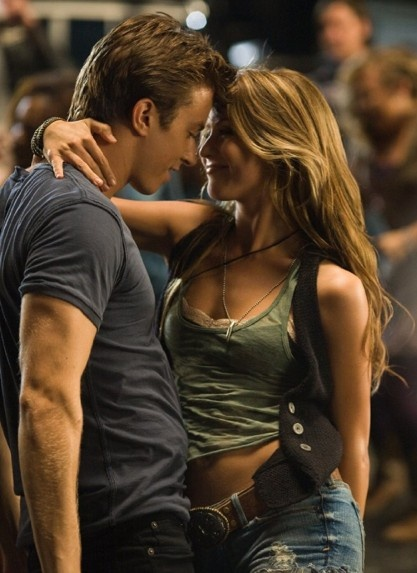 Kenny Wormald and Julianne Hough Footloose . love her hair