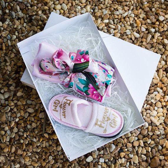 Girls Present Gift bag personalised Bracelet flower girl Bridesmaid