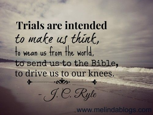 Trials = Faith