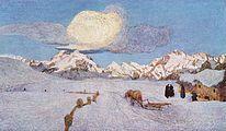 Alpine Triptych: Death, 1898-99