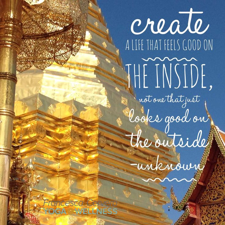 When you do the inner work, your spirit shines outwards.  I took this picture of Wat Phrathat Doi Suthep Temple during my travels in Thailand last year.  #yogateacher #yogabiz #yogainspiration #quote #motivation #inspiration #yoga