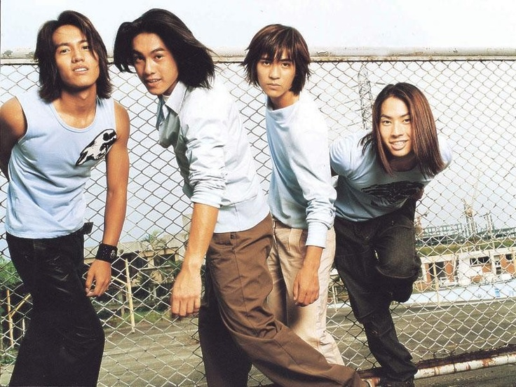 The Original F4 guys - with Jerry Yan <3, Ken Chu, Vic Zhou, and Vanness Wu