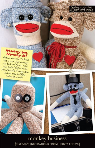 how to make a sock animal step by step