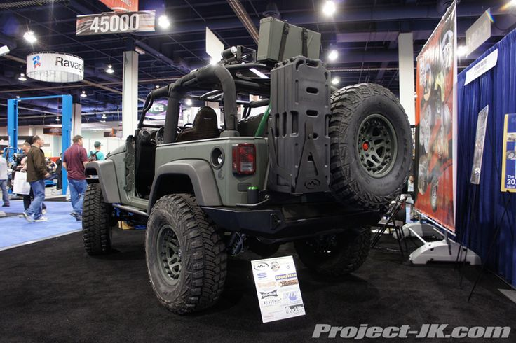 Rotopax On Jeep Jk Project With Hutchinson Wheels Jeep