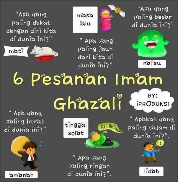 Anis Zahidi: Salam Jumaat #Pesanan Imam Ghazali
