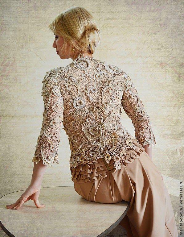 Irish crochet &: Маргарита Попова