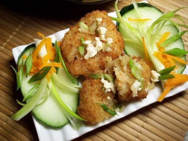 deep fried seafood recipes | Deep-Fried Shrimp Cakes (Taud Man Goong ...