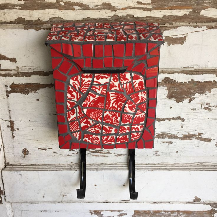 12 best letterbox madness images on pinterest mosaic mosaic art mosaic letterbox mailbox broken china mosaic letter box red bird of paradise spiritdancerdesigns Gallery