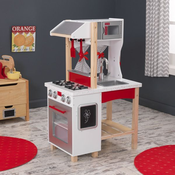 Kidkraft Modern Island Kitchen Overstock Shopping Big Discounts On Kidkraft  Kitchens U Play Food With Kidkraft.