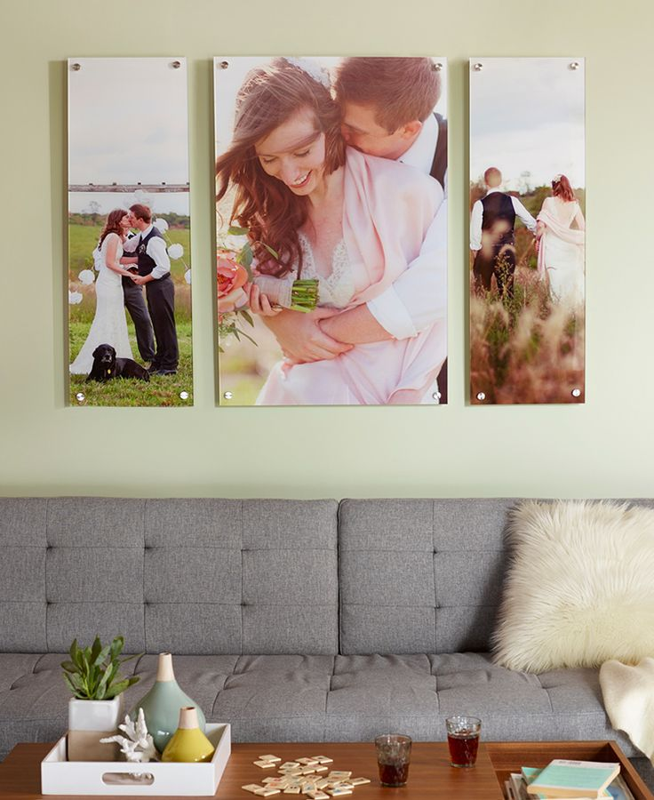 Keep sharing the story of your love long after you've said I Do. Home decor is the perfect way to display your favorite wedding and engagement photos.
