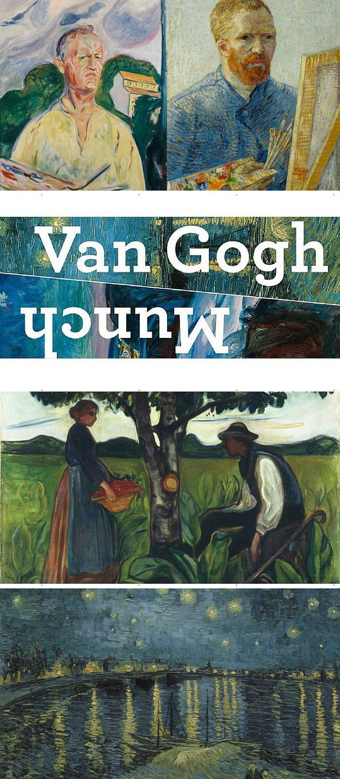 125 jaar na de dood van Vincent van Gogh organiseert het Van Gogh Museum de tentoonstelling Munch : Van Gogh. De kunstenaars Vincent van Gogh (1853-1890 en Edvard Munch (1863-1944) worden vaak met elkaar vergeleken en dikwijls in een adem genoemd. Toch is het nu voor het eerst dat kunstwerken van de twee meesters op grote schaal in een tentoonstelling bijeen worden gebracht. http://www.agirlaroundtheglobe.com/munch-van-gogh-tentoonstelling-amsterdam/