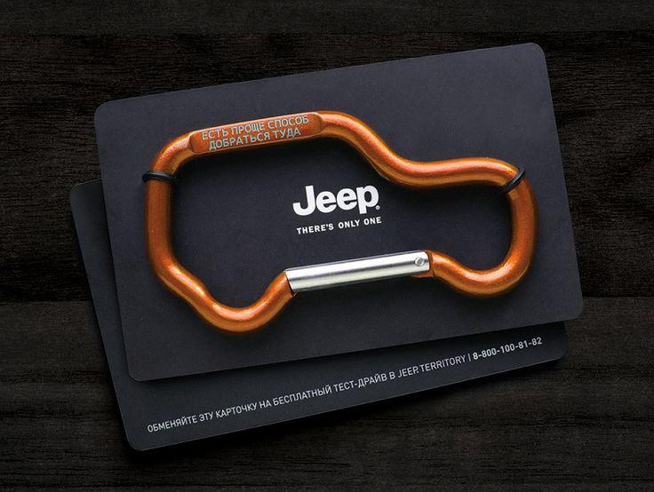 Jeep Carabiner Direct Marketing Campaign