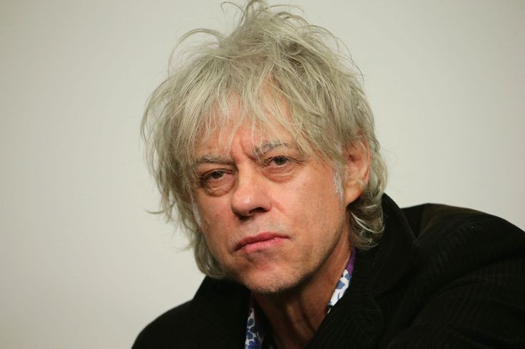 Bob Geldof – Musician and charity campaigner. Launched 'Band Aid' in 1984 to help African famine.