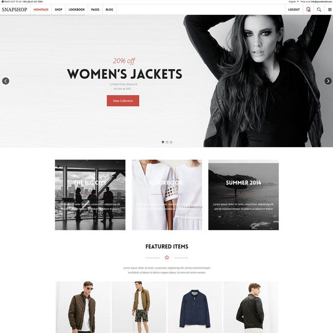 45 best Best eCommerce WordPress Themes images on Pinterest | Best ...