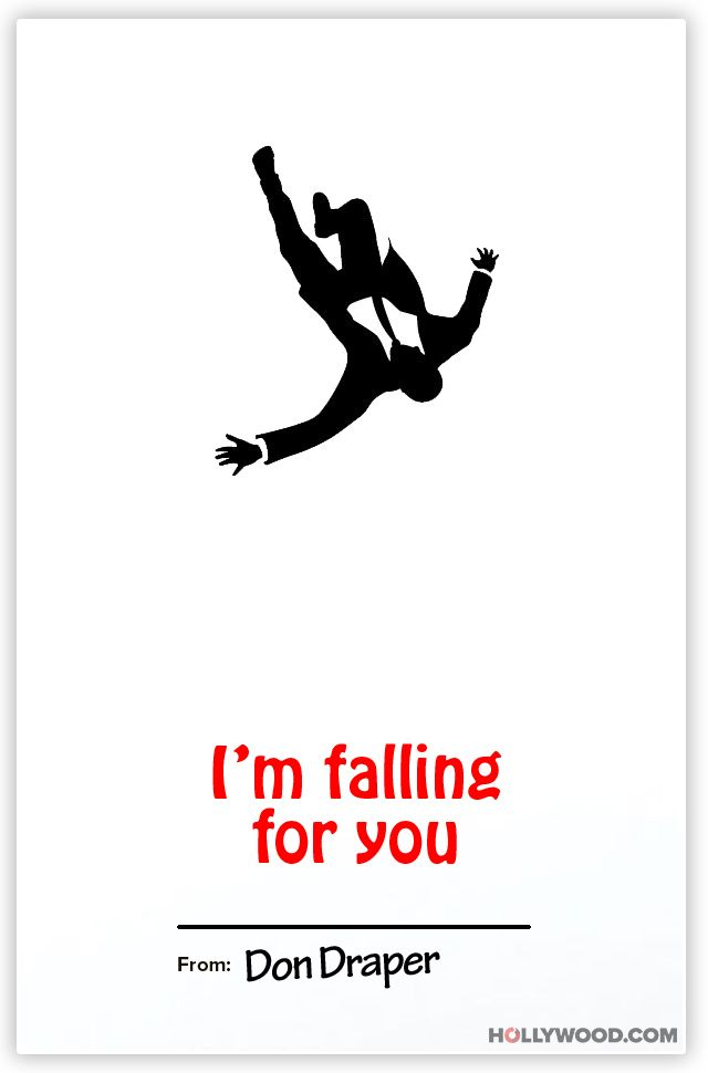 Falling Fore You Valentine\u2019s Day Card