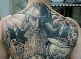 Wizard Tattoos And Designs-Wizard Tattoo Meanings And Ideas-Wizard Tattoo Gallery