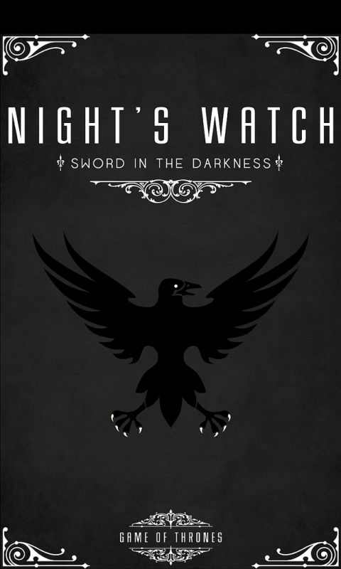 The Nights Watch Phone Background This Is Exactly What I Was Looking For