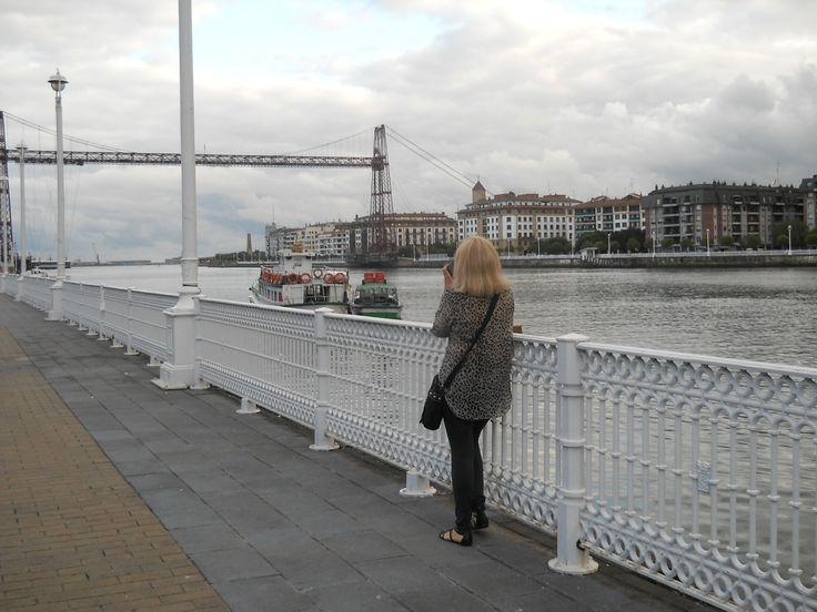 Puente Colgante, Portugalete, Bilbao Ria Nervión