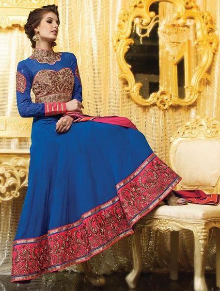 Ravishing Royal Blue Long anarkali Suit  https://www.ethanica.com/products/ravishing-royal-blue-long-anarkali-suit-1