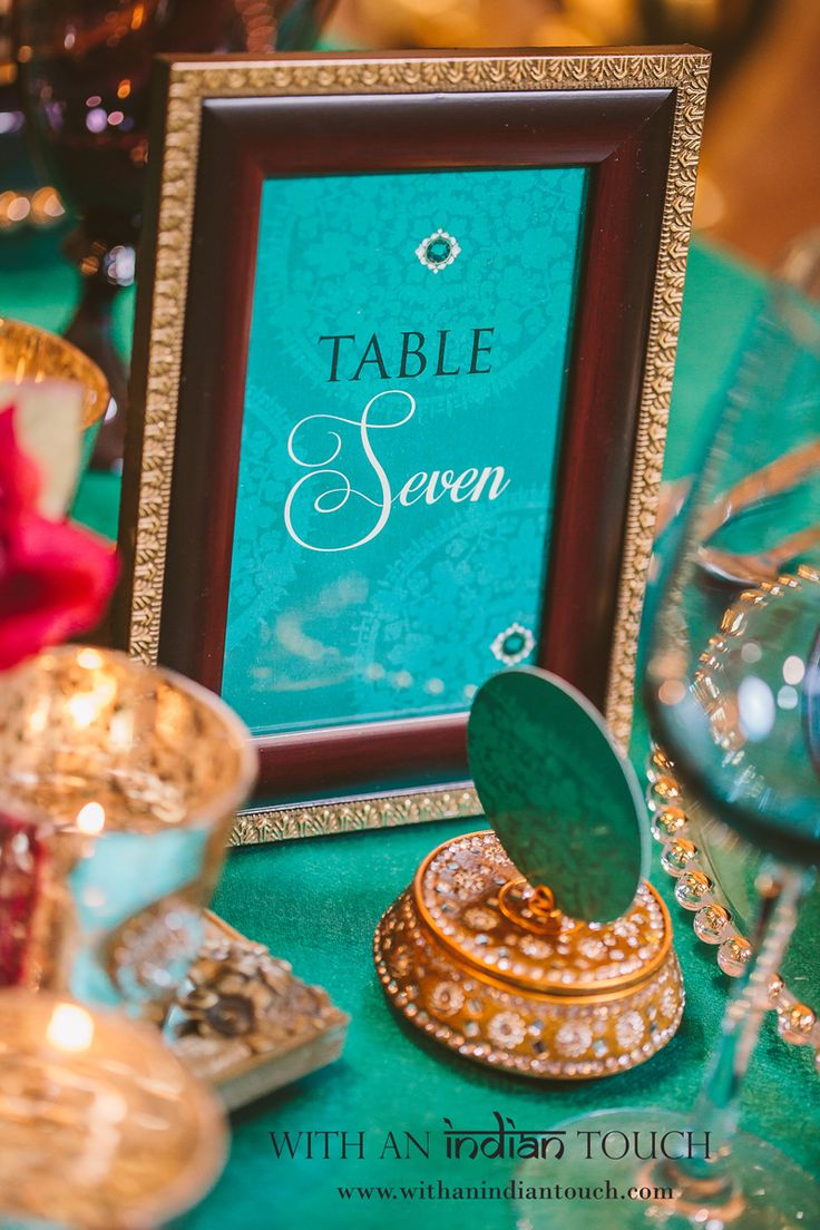 10 Emerald Table Number Cards 28 best