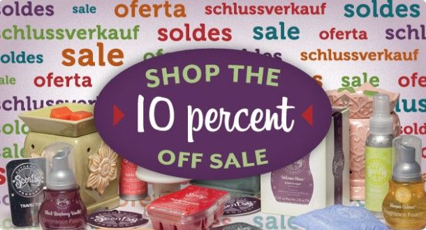 Scentsy August 2012 Ten Percent Off Sale