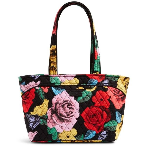 Vera Bradley Mandy Shoulder Bag in Cuban Tiles (1 880 UAH) ❤ liked on Polyvore featuring bags, handbags, havana rose, vera bradley handbags, white handbags, white quilted handbag, white quilted purse and shoulder strap handbags