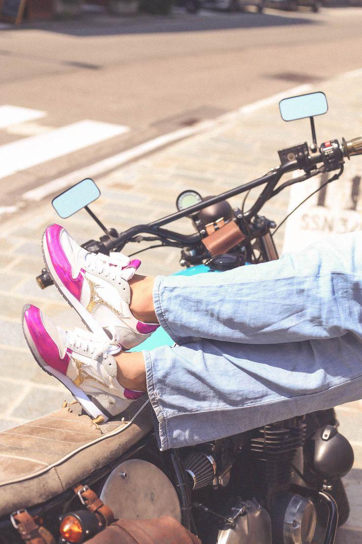 Mizuno 1906 sneakers moto look style blogger