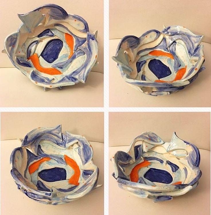 A Bowl of Fish vol.2 �� #art #sanat #ceramics #seramik #seramiktasarim #ceramicsdesign #ceramiclicious #botz #glaze #sır #handmade #elyapımı #pottery #çömlek #kil #clay #çamur #kiln #diary #günlük #instapottery #picofday #bowl #kase #betultaylanatolye #aşk #love �� http://turkrazzi.com/ipost/1524925504606798914/?code=BUpn6rDBYRC
