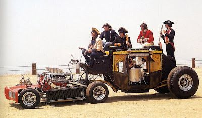 Paul Revere and the Raiders Hot Rod Coach