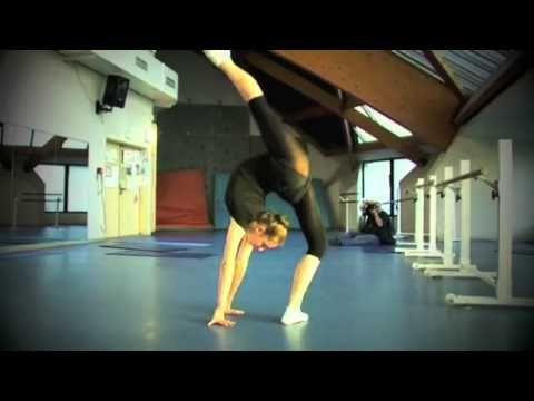 Really amazing rhythmic gym training montage (Rhythmic Gymnastics Training - All that I'm Living For)