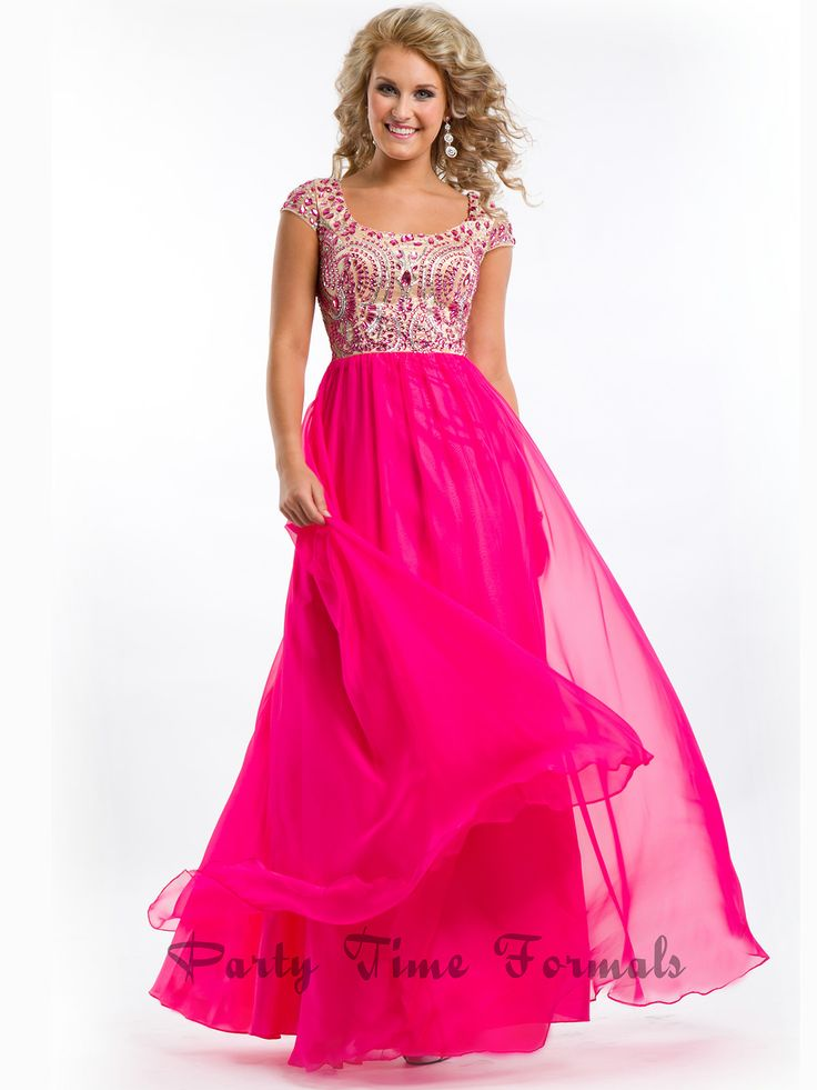 Pink Dressers For Girls Bedroom Set: Beaded Bodice A-Line Party Time Prom Dress 6423
