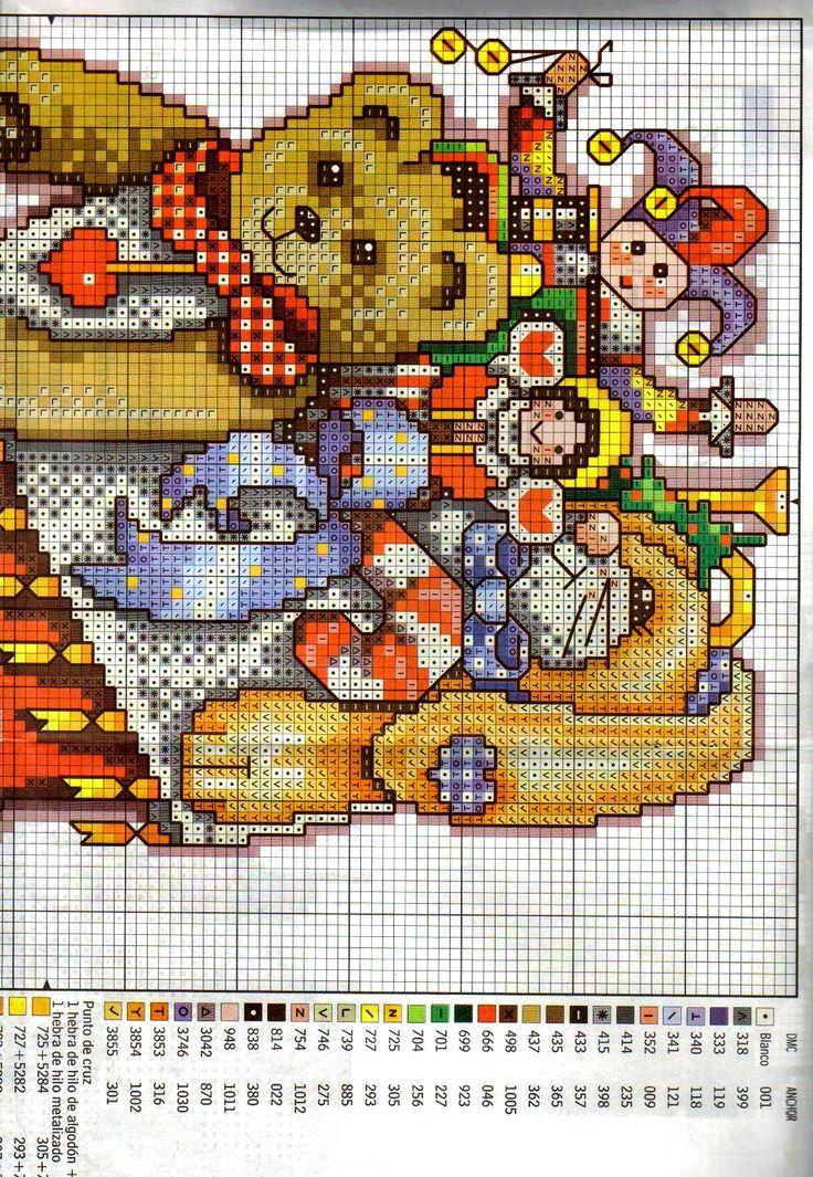 Donna Koolers 999 Fabulous CrossStitch Patterns Free Download