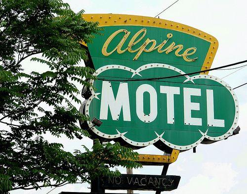 Alpine Motel Inkster, Michigan  #BoulderInn