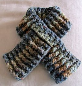 Moose Mouse Creations: A Child's Scarf: Crochet Pattern