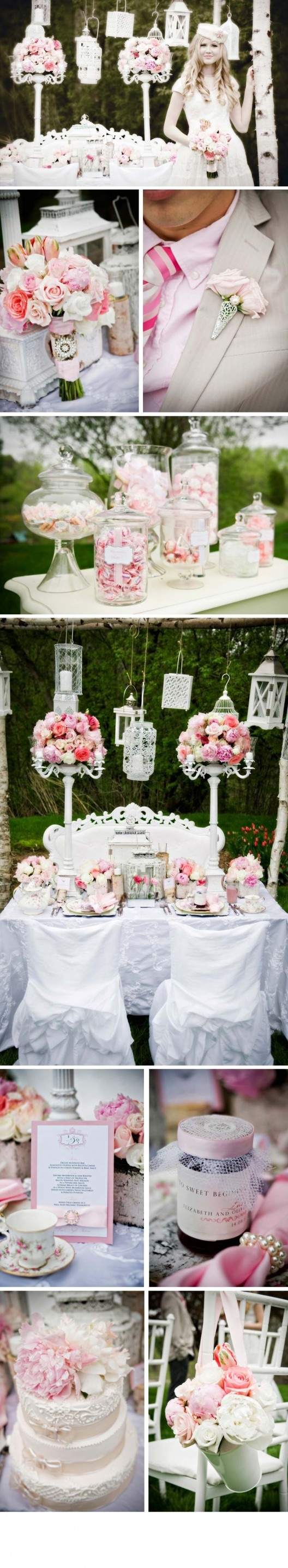 ideas for rustic wedding reception%0A Some ideas here for reception or showers    Wedding VintageVintage