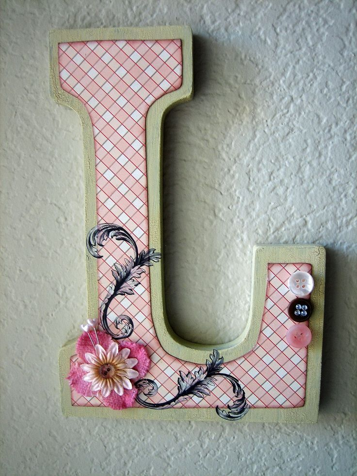 Personalized Wooden Wall Letter Best 54 Letters