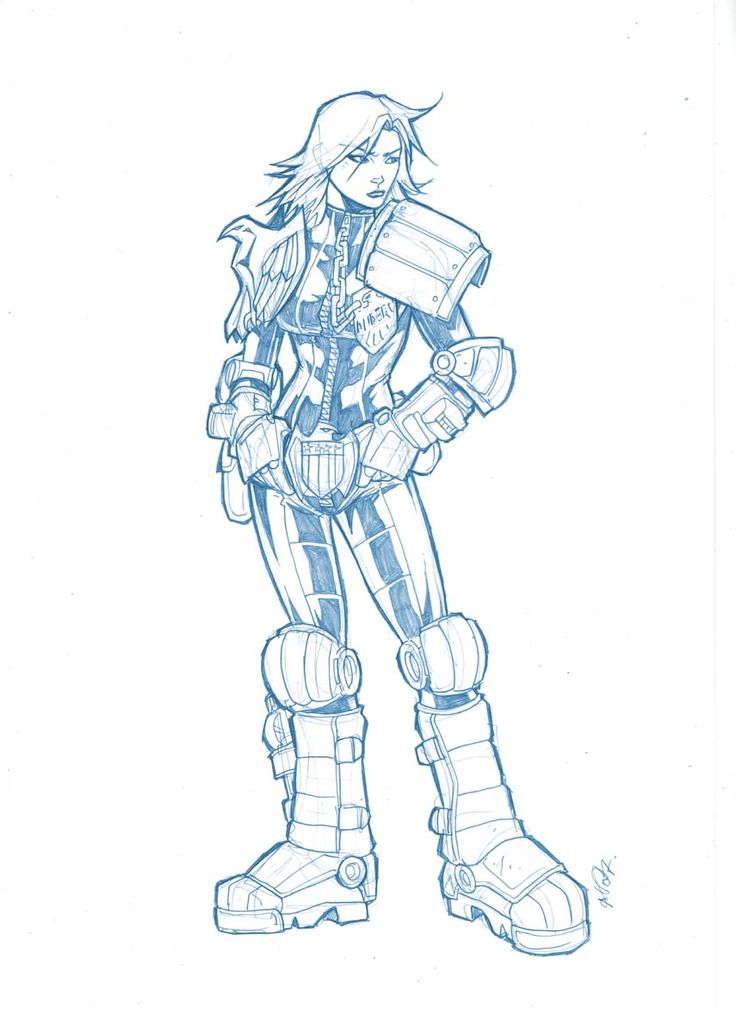 judge anderson by deemonproductions on DeviantArt