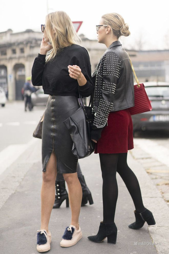 Уличная мода: Неделя моды в Милане сезона осень-зима 2016-2017: уличный стиль