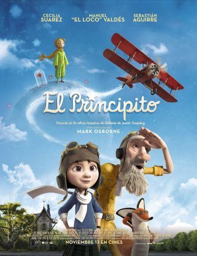 The Little Prince (2015) [BRRip 720p] [Dual : Latino e Ingles] [Animacion] [Mega]