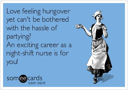 We saddle up for blood, urine, pus, poop, and spit every day. Nurses Week is just more of the same, but with a free pen. | Nurses Week Ecard