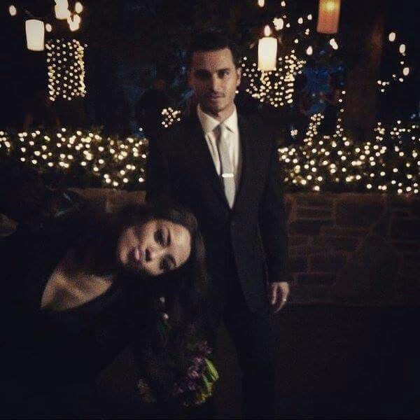 TVD Bonnie and Enzo BTS