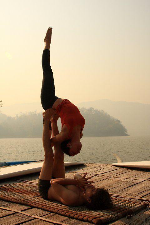 Couple yoga.: Acroyoga, Partners Yoga, Yoga Fit, Yoga Poses, Partneryoga, Namaste, Couple Yoga, Acro Yoga, Yoga Inspiration