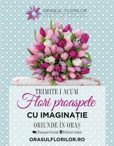 #flori #floriproaspete #orasulflorilor #transportgratuit #florisilucruri #florarieonline #Romania #florarieromania
