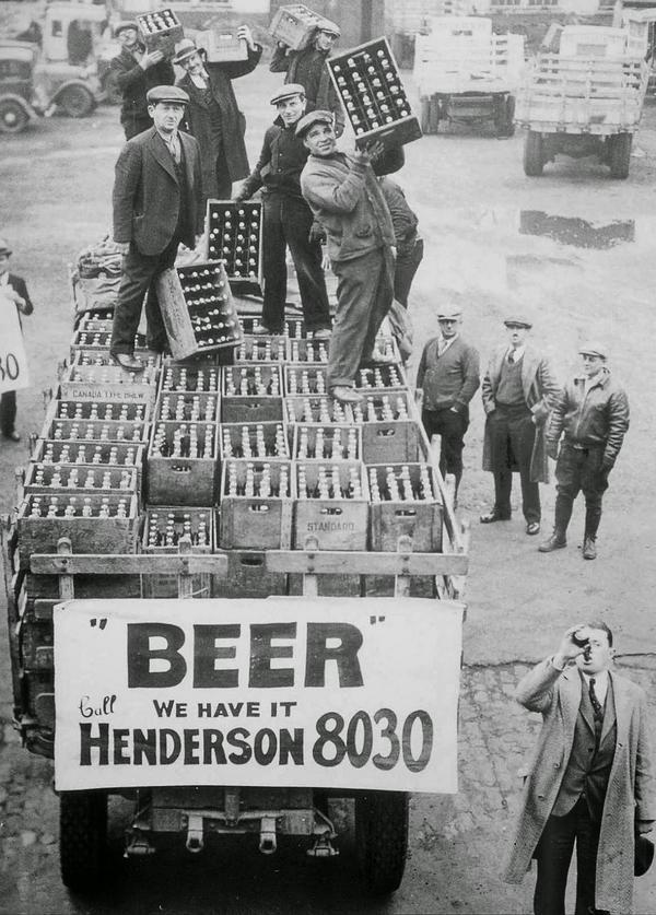 Fin de la Ley Seca, 1933. EEUU