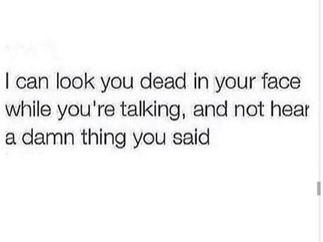 I got a serious problem with this.  I zone out fast af!