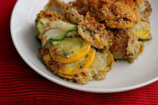 Summer Squash Gratin Recipe | Zucchini & Squash Recipes | Pinterest