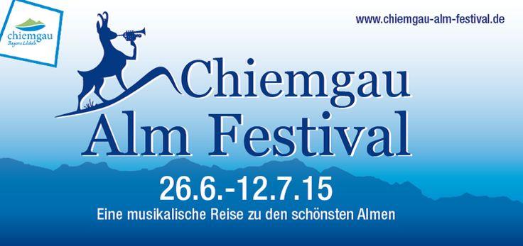 """Chiemgau Alm Festival 2015 - Beim #Chiemgau #Almfestival wird die alte #Tradition des """" #Alm #Hoagascht """" wieder belebt. Entstanden ist so ein #Festival , das #Musiker und Zuhörer an ganz besondere Plätze führt. Eingebettet in unsere wunderschöne #Bergwelt liegen die #Almen , auf denen die #Konzerte stattfinden.   #Musik aller Genres und für alle Generationen, aufgespielt inmitten der herrlichen #Landschaft der #Chiemgauer #Alpen . Erleben Sie echte heimische #Volksmusik #Jazz und #Rock…"""